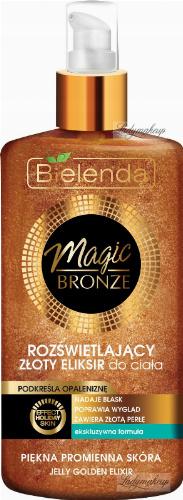 Bielenda - MAGIC BRONZE - Jelly Golden Elixir - Illuminating golden body elixir - 150 ml