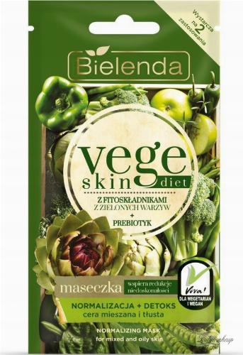 Bielenda - Vege Skin Diet - Normalizing Mask - Mask - Normalization + Detox