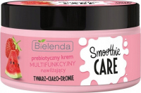 Bielenda - SMOOTHIE CARE - Prebiotic multi-functional cream - Moisturizing - Prebiotic + Strawberry + Watermelon - 200 ml