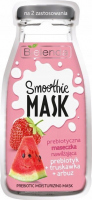 Bielenda - SMOOTHIE MASK - Prebiotic Moisturizing Mask - Prebiotic moisturizing mask - Prebiotic + Strawberry + Watermelon