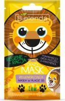 Bielenda - Crazy Mask - Regenerating 3D Sheet Mask - Regenerating 3D mask - lion shape