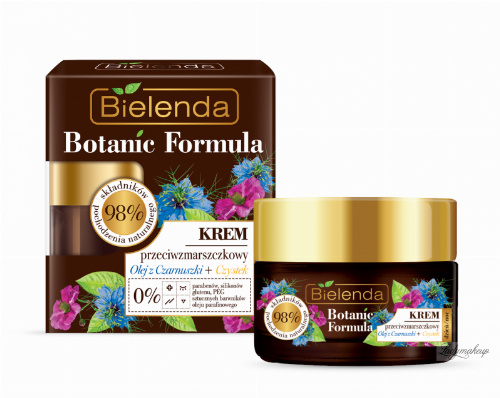 Bielenda - Botanic Formula - Anti-Wrinkle Cream - Black Cumin Oil + Cistus - 50 ml