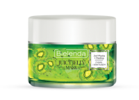 Bielenda - Juicy Jelly Mask - Cleansing Mask + Exfoliation 2in1 with Kiwi ana Cactus - 2in1 mask + peeling with kiwi and cactus