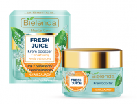 Bielenda - Fresh Juice - Moisturizing Cream Booster with Bioactive Citrus Water - Moisturizing cream booster with bioactive citrus water - 50 ml