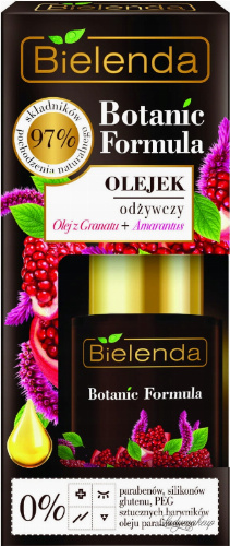 Bielenda - Botanic Formula - Nourishing Face Oil - Pomegranate Oil + Amaranth - 15 ml