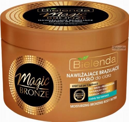 Bielenda - MAGIC BRONZE - Moisturizing Bronzing Body Butter - Nawilżająco-brązujące masło do ciała - 200 ml
