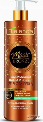 Bielenda - MAGIC BRONZE - Brightening Body Lotion with a Golden Pearl - 250ml