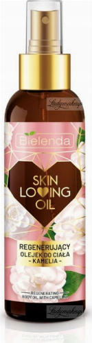 Bielenda - Skin Loving Oil - Regenerating Body Oil With Camellia - Regenerating Body Oil - Camellia - 150 ml