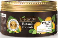 Bielenda - Botanic Formula - Body Scrub - Lemon Tree + Mint - Body Peeling - 350 g