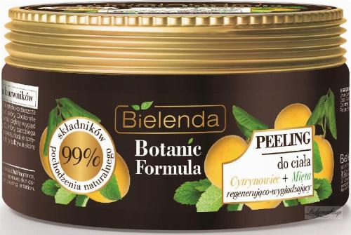 Bielenda - Botanic Formula - Body Scrub - Lemon Tree + Mint - Peeling do ciała - Cytrynowiec + Mięta - 350 g