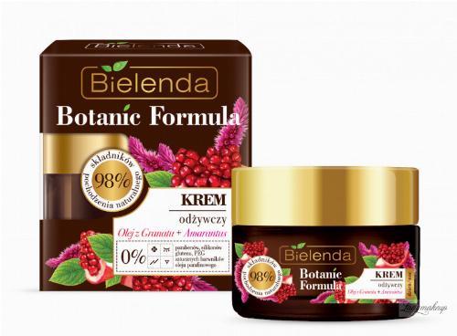 Bielenda - Botanic Formula - Nourishing Cream - Pomegranate Oil + Amaranth - 50 ml