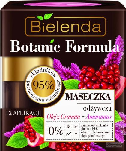 Bielenda - Botanic Formula - Nourishing Face Mask - Pomegranate Oil + Amaranth - 50 ml