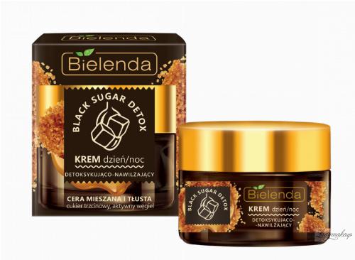 Bielenda - Black Sugar Detox - Detoxifing & Moisturising Cream - Day/Night - Detoksykująco-nawilżający krem - Dzień/noc - 50 ml