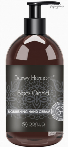 BARWA - HARMONY COLORS - NOURISHING HAND CREAM - Black Orchid - Nourishing hand cream - 200 ml