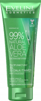 EVELINE COSMETICS - 99% NATURAL ALOE VERA - ALOES Multifunctional body and face gel - 250 ml