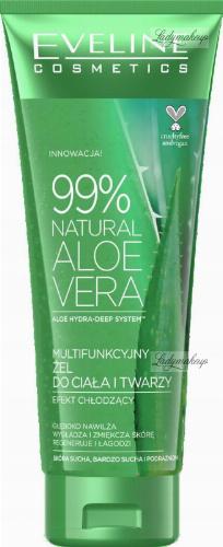 Eveline Cosmetics - 99% NATURAL ALOE VERA - ALOES Multifunkcyjny żel do ciała i twarzy - 250 ml