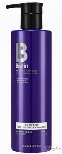 Holika Holika - Biotin - Hair Loss Control Shampoo - Szampon z biotyną przeciw wypadaniu włosów - 390ml