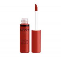 NYX Professional Makeup - BUTTER GLOSS - Creamy Lip Gloss - 40 - APPLE CRISP - 40 - APPLE CRISP