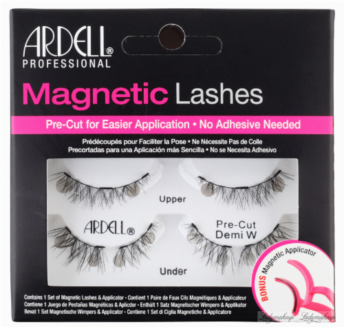 ARDELL - Magnetic Lashes - Magnetic lashes on the bar - Pre Cut Demi W
