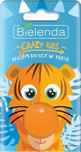 Bielenda - Crazy Kiss - Lip Balm - Ball Balm - Orange