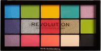 MAKEUP REVOLUTION - RE-LOADED - Palette of 15 eye shadows - EUPHORIA