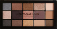MAKEUP REVOLUTION - RE-LOADED - Palette of 15 eye shadows - ICONIC 1.0