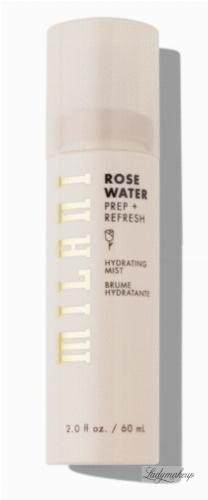 MILANI - ROSE WATER - HYDRATING MIST - Nawilżająca mgiełka do twarzy