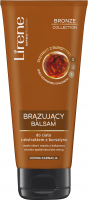Lirene - BRONZE COLLECTION - BRONZING BODY BALM - Bronzing body lotion with amber extract - Dark complexion - 200 ml