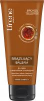 Lirene - BRONZE COLLECTION - BRONZING BODY BALM - Brązujący balsam do ciała z ekstraktem z bursztynu - Ciemna karnacja - 200 ml