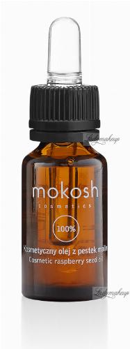 MOKOSH - COSMETIC RASPBERRY SEED OIL - Kosmetyczny olej z pestek malin - 100 ml