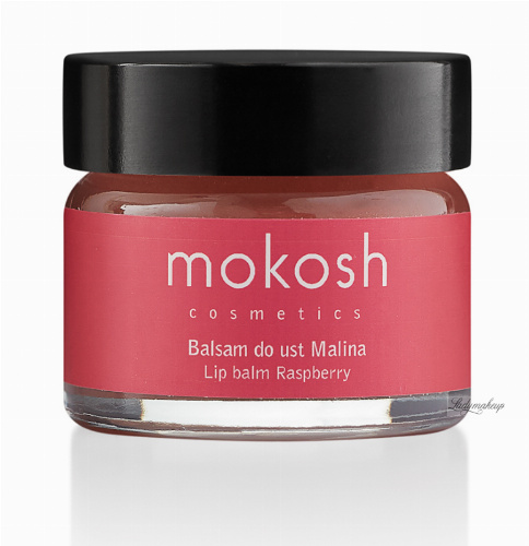 MOKOSH - LIP BALM - RASPBERRY - 15 ml