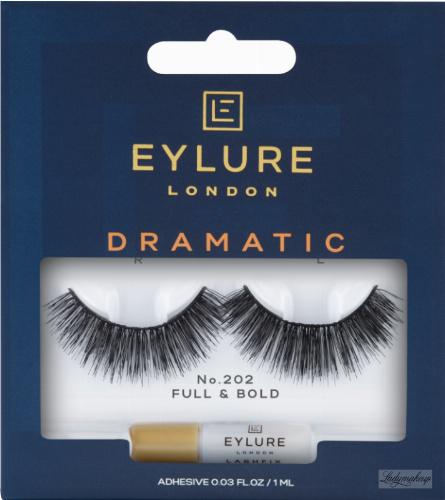 EYLURE - DRAMATIC - NR 202 - Rzęsy z klejem - efekt teatralny - 6001125N
