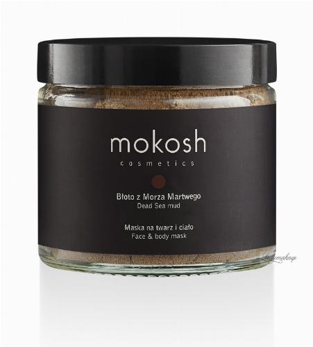 MOKOSH - DEAD SEA MUD - FACE & BODY MASK - Maska na twarz i ciało - Błoto z morza martwego - 250 ml