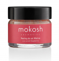 MOKOSH - LIP SCRUB - RASPBERRY - Peeling do ust - Malina - 15 ml