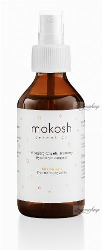 MOKOSH - HYPOALLERGENIC ARGAN OIL - Hipoalergiczny olej arganowy - Od pierwszego dnia życia - 100 ml