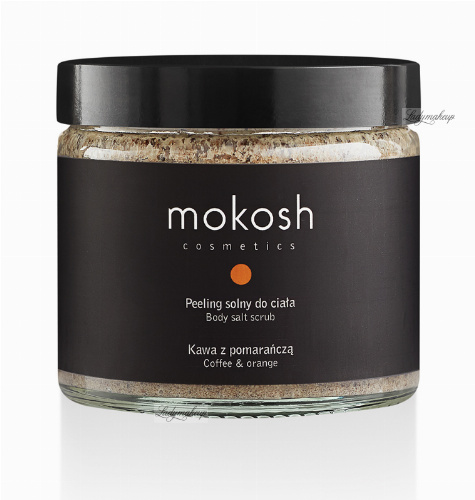 MOKOSH - BODY SALT SCRUB - COFFEE & ORANGE - 300 g