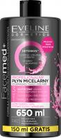 EVELINE - FaceMed+ - Profesjonalny płyn micelarny - 650 ml