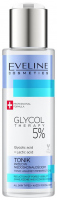 EVELINE - GLYCOL THERAPY 5% - Tonic Against Imperfections - Tonik przeciw niedoskonałościom - 110 ml