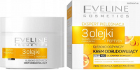 EVELINE - CARE EXPERT - 3 OILS - Deeply nourishing rebuilding cream - Day / Night - 50ml