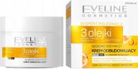Eveline Cosmetics - EKSPERT PIELĘGNACJI - 3 OLEJKI - Głęboko odżywczy krem odbudowujący - Dzień/Noc - 50ml