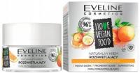 Eveline Cosmetics - I LOVE VEGAN FOOD - Naturalny krem rozświetlający - Camu camu i pomarańcza - 50 ml