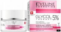 Eveline Cosmetics - GLYCOL THERAPY 5% - Correcting Anti-wrinkle Cream - Korygujący krem przeciw zmarszczkom na Noc - 50 ml
