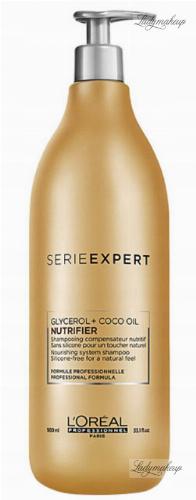 L'Oréal Professionnel - SERIE EXPERT - NUTRIFIER - GLYCEROL + COCO OIL - Odżywczy szampon do włosów suchych - 980 ml
