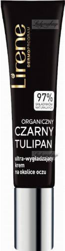 Lirene - ORGANICZNY CZARNY TULIPAN - Ultra-wygładzający krem na okolice oczu - Odmłodzenie - 50-70 - 15 ml