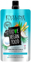 Eveline Cosmetics- I LOVE VEGAN FOOD - COCONUT DETOX SUGAR BODY SCRUB - 75 ml