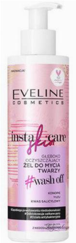 EVELINE - INSTA SKIN CARE - Głęboko oczyszczający żel do mycia twarzy - 200 ml