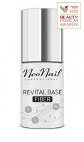 NeoNail - REVITAL BASE FIBER - Wzmacniająca baza do paznokci - 7,2 ml