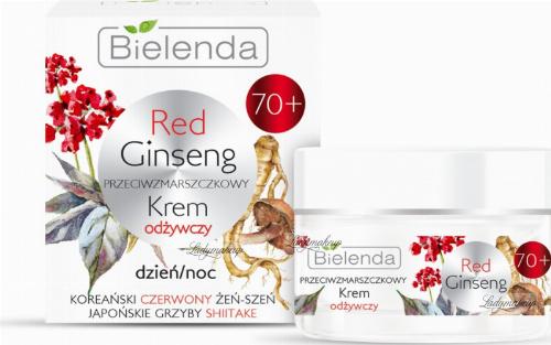 Bielenda - Red Ginseng - Przeciwzmarszczkowy krem odżywczy - Dzień/Noc - 70+ - 50 ml