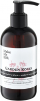 Make Me Bio - GARDEN ROSES - SOAP - Delikatne mydło w płynie z wodą różaną i olejkami - 250 ml