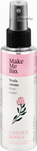 Make Me Bio - GARDEN ROSES - ROSE WATER - Woda różana - 100 ml